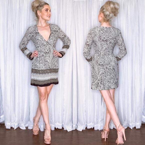 Ya Los Angeles Dresses & Skirts - Long Sleeve Boho Mini Dress
